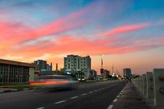 Ras Al Khaimah, Arabische Emirate - 27. November 2018: Ras Al lizenzfreie stockbilder