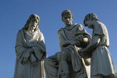 1ras estaciones de la cruz Imagen de archivo