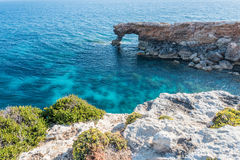 Ras Hamrija along the Southern Coast of Malta Stock Photos