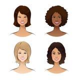 Ras ludzkich kobiety Obrazy Stock