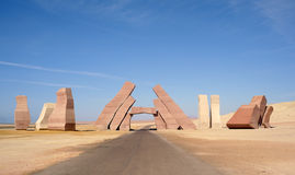 Ras Mohamed. Entrance in national park of Ras Mohamed,Egypt royalty free stock images
