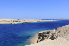 Ras Mohamed Nature Reserve, Qesm Sharm Ash Sheikh, Egito imagem de stock royalty free