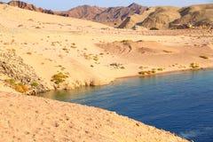 Ras Mohammad National park. Lake in Ras Mohammad National park Stock Photo