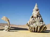 Ras Mohammed, deserto del Sinai Immagini Stock Libere da Diritti
