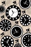 Ras tegen Tijd Stock Foto's