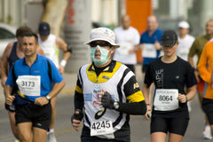 Ras van de Marathon van Athene het Klassieke Stock Fotografie