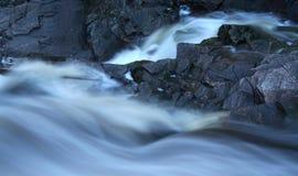 rasa flod Arkivbilder