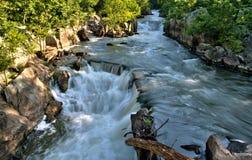 Rasa Potomac flod Royaltyfri Fotografi