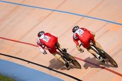 rasa rowerów Zdjęcia Royalty Free