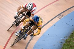 rasa rowerów Obraz Royalty Free
