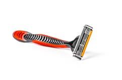rasage de la lame de rasoir Photo stock