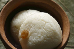 Rasagolla is a cheese based sweet from India Stock Photos