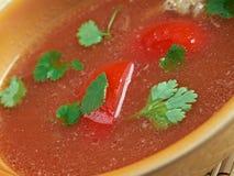 Rasam soup Stock Photo