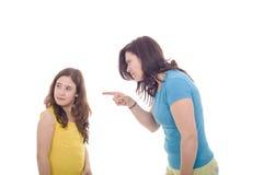rasande moder Fotografering för Bildbyråer