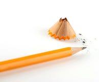 Rasatura della matita Fotografie Stock Libere da Diritti