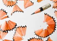 Rasatura della matita Fotografie Stock