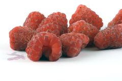 Rasberries Stock Photography