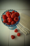 Rasberries Stockbild