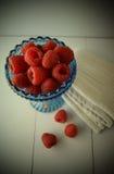 Rasberries Stockbild