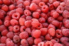 Rasberry background. Background of fresh raw raspberry Stock Photos