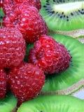 Rasberry e quivi Imagem de Stock