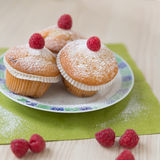 Rasberry muffin Royalty Free Stock Photos