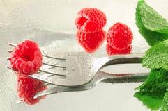 rasberry s'est levé Photos libres de droits