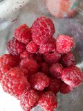 Rasberry. Sweet fruits Stock Photography