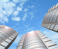 Rascacielos. Fotos de archivo