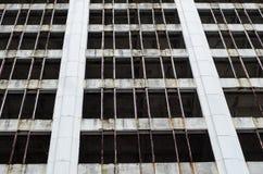 Rascacielos abandonado Fotos de archivo
