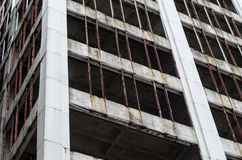Rascacielos abandonado Fotografía de archivo