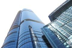 Rascacielos aislado de la ciudad Imagenes de archivo