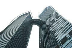 Rascacielos aislado de la ciudad Imágenes de archivo libres de regalías
