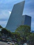 Rascacielos alineado Foto de archivo libre de regalías