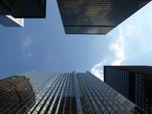 Rascacielos altos Foto de archivo