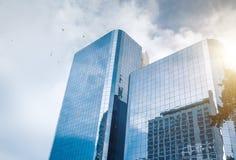 Rascacielos asiático Imágenes de archivo libres de regalías