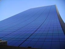 Rascacielos azul, Nueva York, los E.E.U.U. Foto de archivo libre de regalías