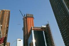 Rascacielos bajo construcción Imagen de archivo