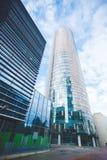Rascacielos brillante del negocio de la ciudad Foto de archivo libre de regalías