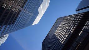 Rascacielos céntricos Fotos de archivo