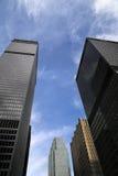 Rascacielos céntricos Imagenes de archivo
