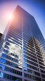 Rascacielos céntricos Fotos de archivo libres de regalías