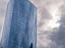 Rascacielos céntricos Imagen de archivo libre de regalías