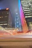 Rascacielos céntricos de Hong Kong Fotos de archivo libres de regalías