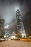 Rascacielos céntricos de Hong Kong Imágenes de archivo libres de regalías