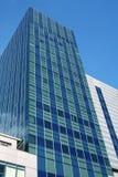 Rascacielos comercial moderno Foto de archivo libre de regalías