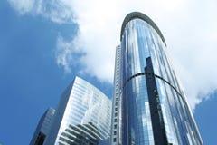 Rascacielos contemporáneos de la ciudad Imágenes de archivo libres de regalías
