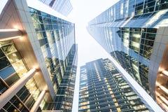 Rascacielos cuatro Fotografía de archivo libre de regalías