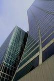 Rascacielos curvado imágenes de archivo libres de regalías
