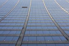 Rascacielos curvado fotografía de archivo